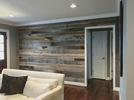 Barnwood Walls Rooms Inspiration